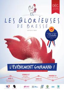 Affiche des Glorieuses de Bresse 2015
